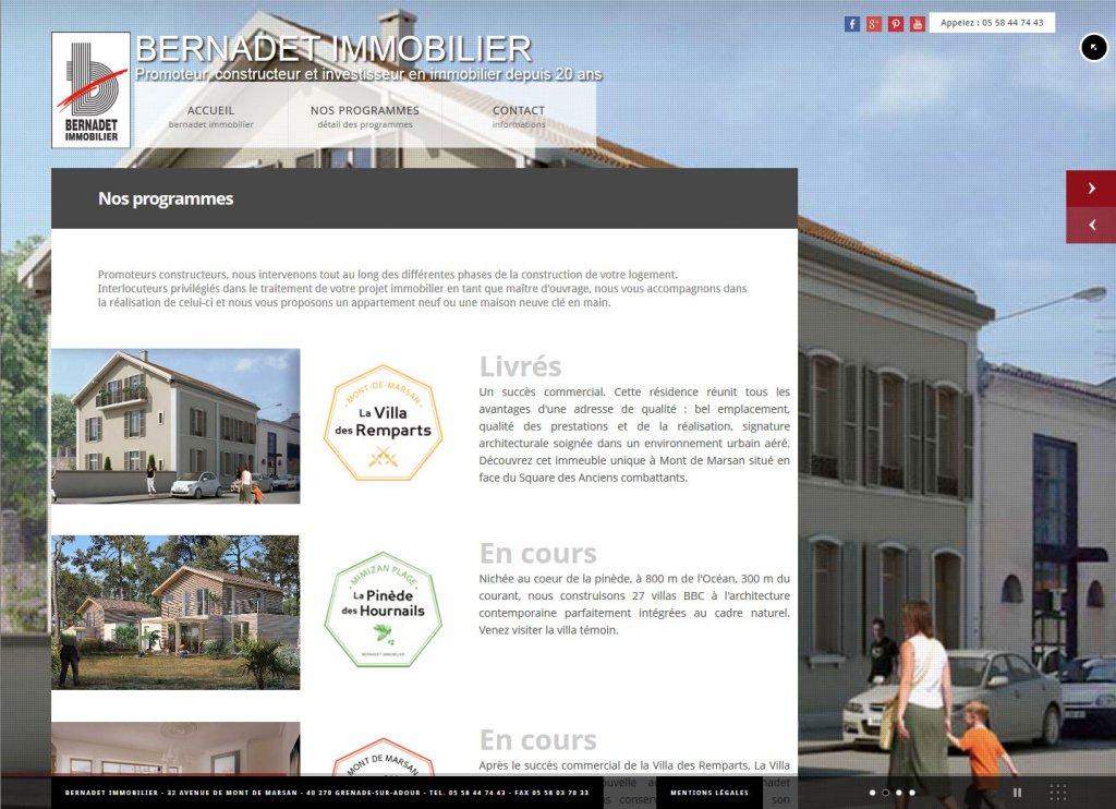 Exorde bernadet immobilier exorde atelier de d veloppement web pau - Union des constructeurs immobiliers ...